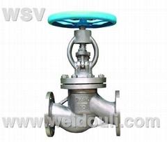 titanium globe valve