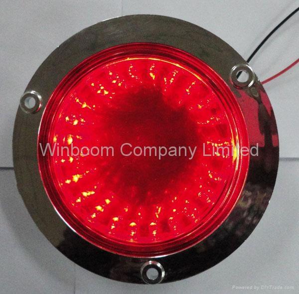 Round LED Trailer Tail light 1