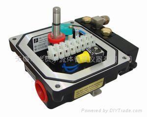 BT6隔爆气动蝶阀DN300阀门信号反馈器 2