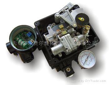 角行程电气定位器带阀位变送 1