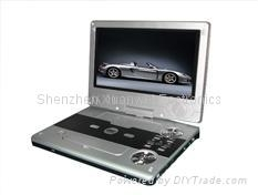 "9.2"" PORTABLE DVD TF-DVD958D WITH/TV/GAME/USB/DIVX"