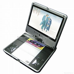 "TF-DVD1028 10"" portable dvd with 16:9 screen with GAME/DIVX/USB/DVD"