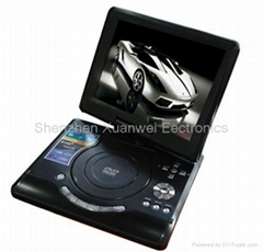 "TF-DVD1058 10"" portable dvd with 16:9 screen with GAME/DIVX/USB/DVD"