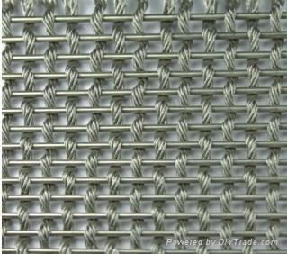 Woven Metal Fabrics for Decoration 2