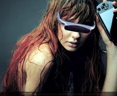 video glasses/wireless video glasse/Digital TV video eyeware
