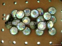 10 mm AB 壓克力鑽帽釘
