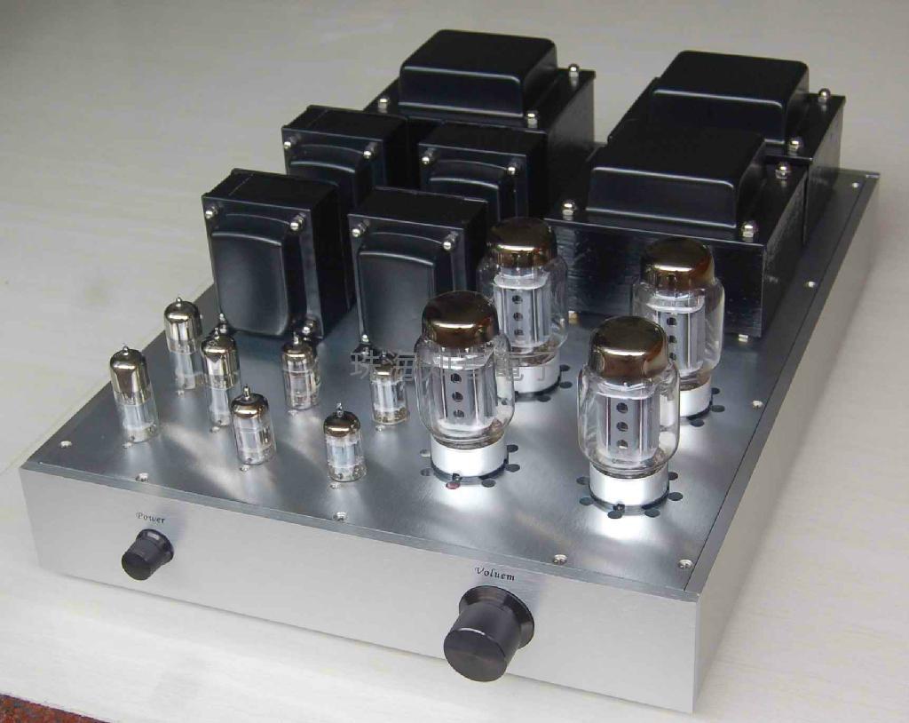 KT88 Tube Audio Amplifier 1