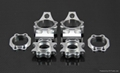 Alloy rear hub carrier set for baja 5b