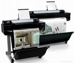惠普大幅面打印机T520上市