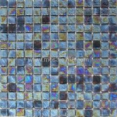 black color Glass mosaic
