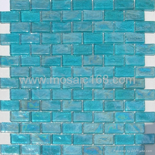glazed mosaik fliesen glass mosaic s242 4 gimare china manufacturer mosaic tile brick. Black Bedroom Furniture Sets. Home Design Ideas