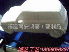 MINI COOPER石膏車模