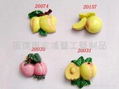 水果石膏工藝品