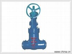 high pressure butt weld globe valve