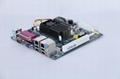 梟杰科技嵌入式ITX-D525-2VGA無風扇工控主板 1