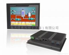 梟杰科技10寸無風扇PPC-P104-N2600超薄工業平板電腦