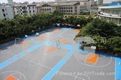 供應 籃球場 懸浮式拼裝地板  賽格(CAG)懸浮式拼裝地板