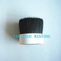 sell 76mm black boiled bristle mixed