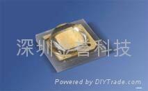 LUW-CQDP 3WLED 白光燈珠 1