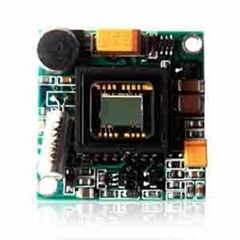 超小型索尼黑白攝像機單板