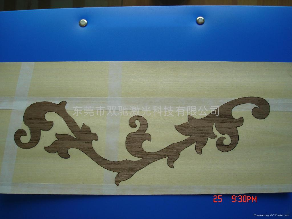 木板激光切割雕刻機 4