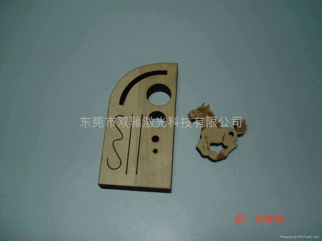 木板激光切割雕刻機 5