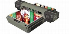 UV flat bed printer(glass printing machine)