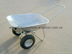 wheelbarrow double wheel