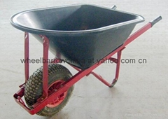 wheel barrow with wide wheel