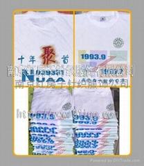 南京广告衫印花