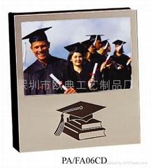 Aluminum  graduation album