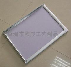 前开式铝合金广告框
