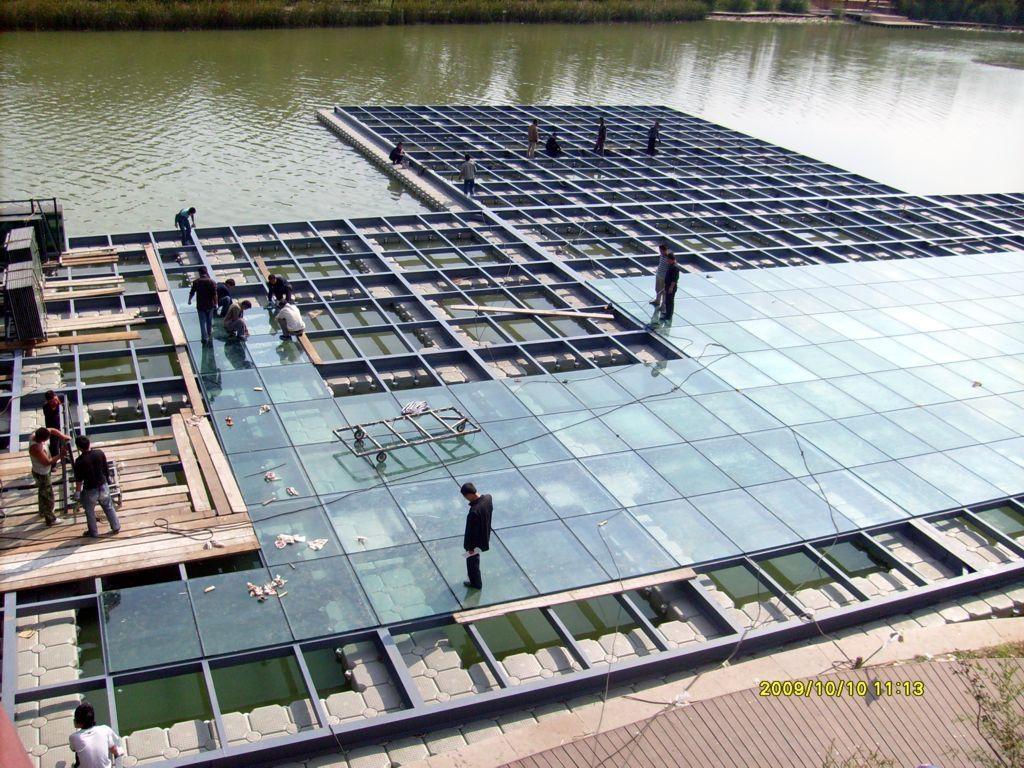 浮筒水上平台餐廳舞臺 5