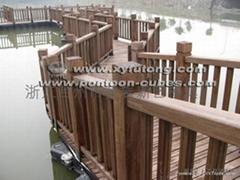 水上景觀步道浮橋