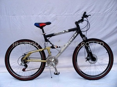 Mountain bicycle(full suspension)