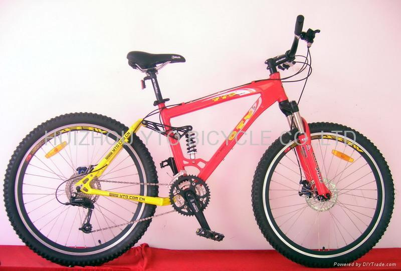 Mountain bicycle(Full suspension) 1