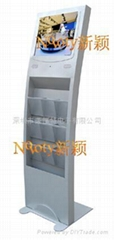 供应19寸立架液晶广告机