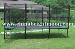 Rectangle Trampoline with Safety Net(10ft x 17ft)