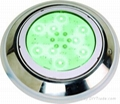 Resined high power LED underwater
