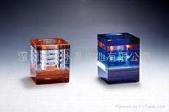 深圳水晶笔筒