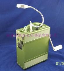 KON-100WPB自发电应急移动电源