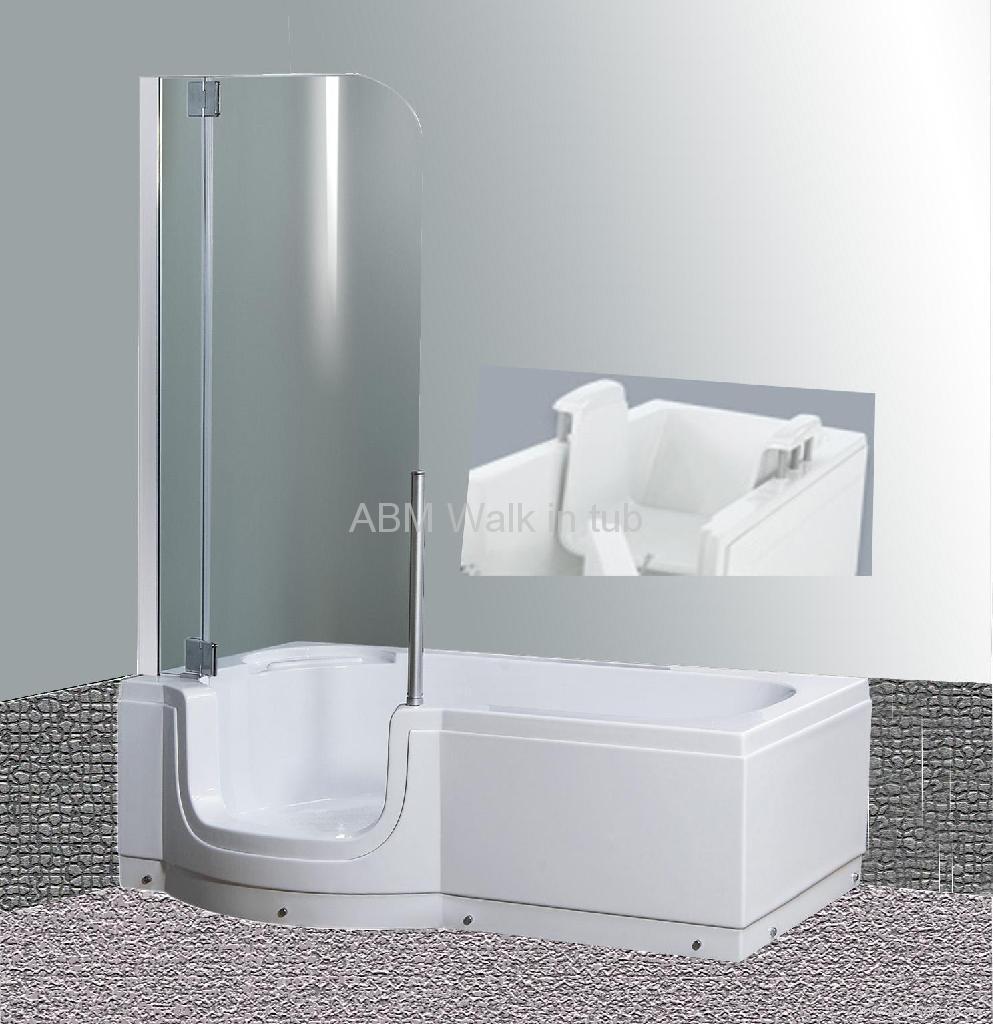 sitzbadewanne walk in bathtub 1800 abm china. Black Bedroom Furniture Sets. Home Design Ideas