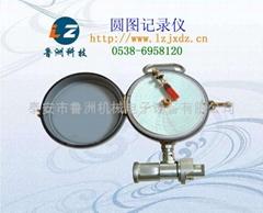 圆图压力记录仪矿压观测用!