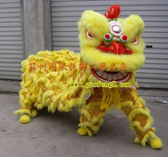 Chinese folk arts south lion dance