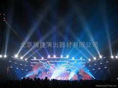 北京燈光音響設備租賃