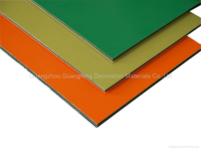 Fireproof aluminium composite panel guangmei china for Aluminium composite panel interior decoration