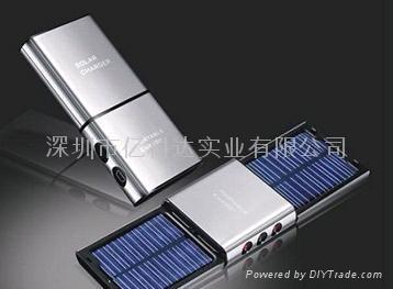 可分拆太阳能充电器 1