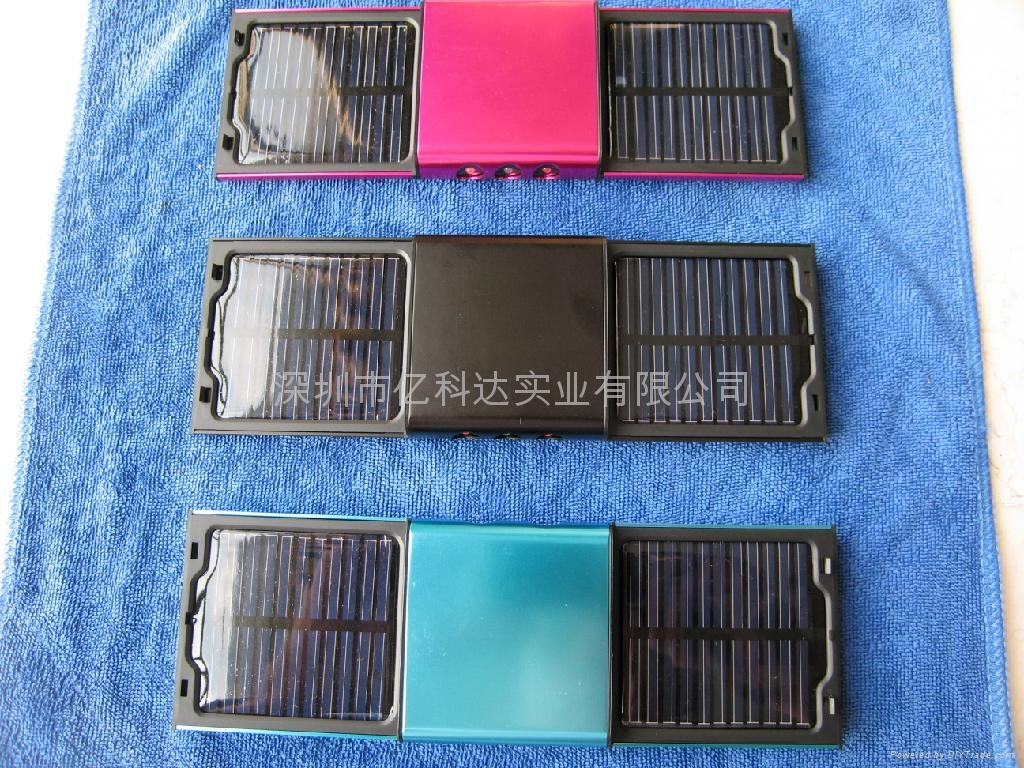 可分拆太阳能充电器 4