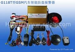 GSM Car Alarm System G118T & G118TA