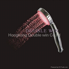 temperature control led shower head